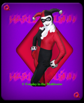 Chelsey Cosplay as Classic Harley Quinn by ATiC3