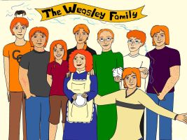 The Weasley Family by LadySoftball