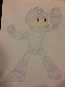 Request: Mega Man by CMBSonic