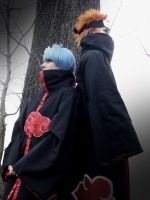 Pein and Konan by Efryee