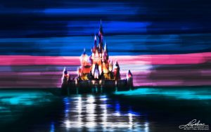 Disney Castle by rey-apel