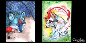 Personal ACEO cards by Capukat