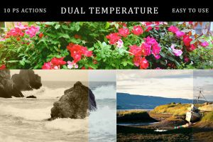 Dual Temperature | PS Actions by linspace