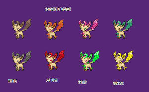 leafeon seasons by bambis1