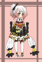 Kimono Girl Adopt Auction (CLOSED) by Manekineko--chan