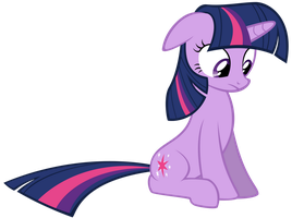 Staring Twilight Sparkle by thatguy1945