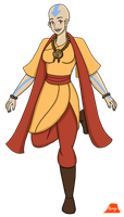 Future Jinora by PerryWhite