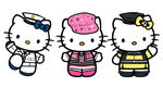 HELLO KITTY X SNSD by xcry