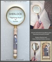 Modern Sherlock Magnifying Glass by karadin