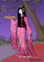 Geisha Game Preview by AzaleasDolls
