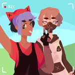 theyre vlogging (contest entry) by DoritoLoser
