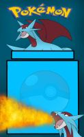 Salamence Journal Skin by PhoenixWulf