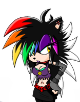 .:: Rainbow Face ::. by soniclover63