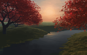Landscape 22 vectorized by darksithanakin