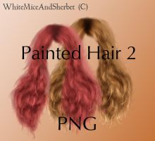 Painted Hair 2 by WhiteMiceAndSherbet