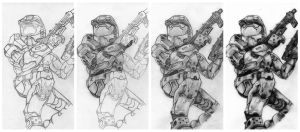 Halo 2 in steps by deathlouis