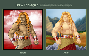 Draw this Again: Samson by jonah-onix