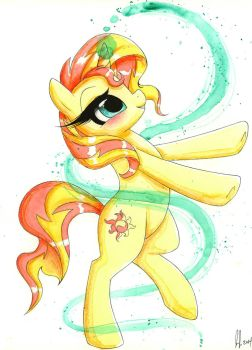 Sunset Shimmer by PrettyPinkP0ny