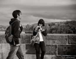 Two Young People In Prague by OllieWie