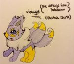 Vixage(fakemon) by TheNeonUmbreon