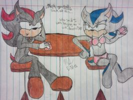 Strip Poker Wiff Shadow~! :'D by AskMephiles