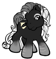 Emo Pony Aka. Skippy by Rejects-Ponies
