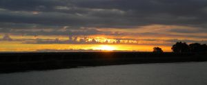 Cloud Sunset Close Up by Marilyn958