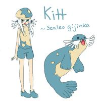 Kitt the Sealeo sketch by scilk