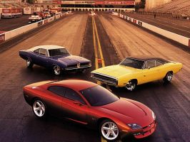 Dodge Charger RT Concept by TheCarloos