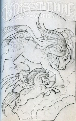 Coloring Book : Pegasus