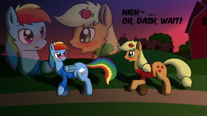 The Dash Diaries - fanart contest entry by Skunkiss