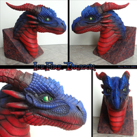 IceFire Dragon Bust by DragonosX