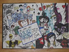 notebook spread by rvh2099