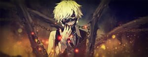 Tokyo ghoul signature by gameriuxlt