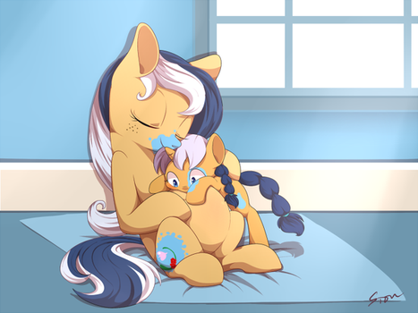 New Life by Aosion by IttybittyLexy