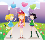 :PPG: Balloon Day by Aria-Pari
