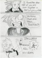 kingdom hearts comic by ShavonLoveSora