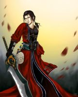 Auron: Version II by AngelofDeathz