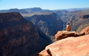 the Grand Canyon by justmeina