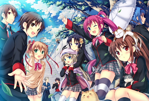 Little Busters! by pcmaniac88