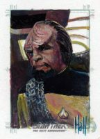 Star trek TNG sketch 6 by charles-hall