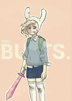 Butts. by thorxpoptarts
