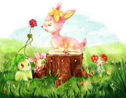 Spring time~ by MeluuArts