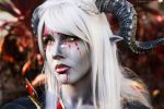 War paint - Qunari cosplay by Soylent-cosplay