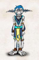 Gene in Traditional Clothes by hunterbahamut