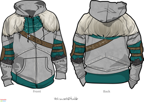 Dark Souls 2 jacket by Vetisx
