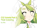 CG Tutorials [Part 3] Hair Coloring by riiko23