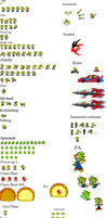 New Chaos Sprite sheet (still working) by CHAOS-BLAST-MAN