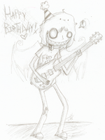 Merry borfdai, Ray Toro by Hat-Boy
