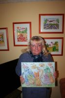 Ingeline and her newest paintings by ingeline-art